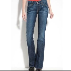 7 For All Mankind Womens Sz 30 Bootcut Jeans Dark